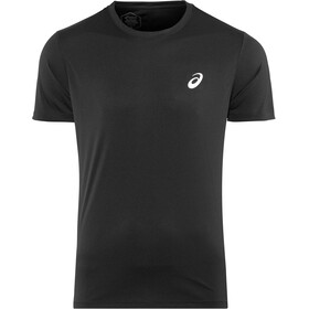 asics Silver SS Top Men performance black